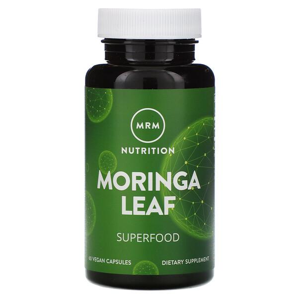 Nutrition, Moringa Leaf, 60 Vegan Capsules