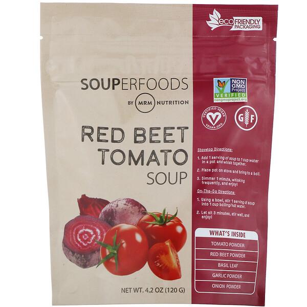 Суперпродукты, томатный суп с красной свеклой, 120г (4,2унции)
