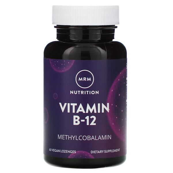 Nutrition, Vitamin B-12, 60 Vegan Lozenges