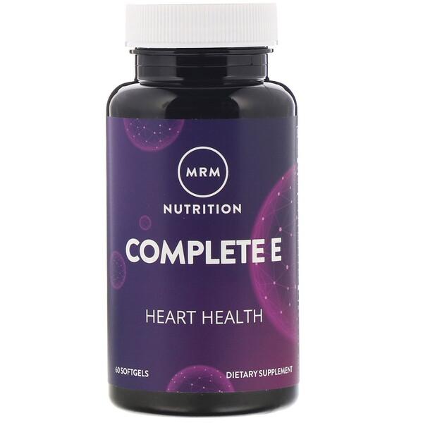 Питание, комплекс с витаминомE, 60мягких таблеток