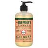 Mrs. Meyers Clean Day, Мыло для рук, с запахом герани, 370мл (12,5жидк.унции)