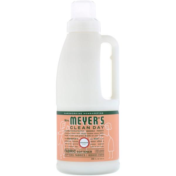 Кондиционер для белья, с запахом герани, 32 жидких унций (946 мл)