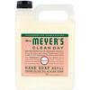 Mrs. Meyers Clean Day, Жидкое мыло для рук в экономичной упаковке с ароматом герани, 975 мл (33 жидких унции)