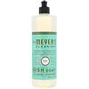 Mrs. Meyers Clean Day, Жидкость для мытья посуды, аромат базилика, 16 жидк. унц. (473 мл)