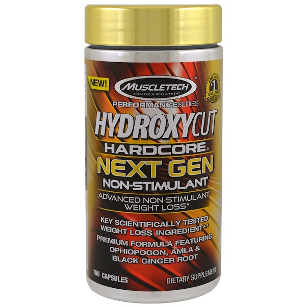 Hydroxycut, Performance Series, Hardcore Next Gen, Non-Stimulant, 150 Capsules