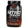 Muscletech, Nitro Tech, сывороточный изолят + рост сухой мышечной массы, вкус молочного шоколада, 907 г (2 фунта)