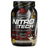 Muscletech, Nitro Tech, сывороточный изолят + смесь для набора сухой мышечной массы, вкус печенья с кремом, 907г (2фунта)