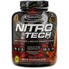 Muscletech, NitroTech, основной источник пептидов и изолятов сывороточного белка, молочный шоколад, 1,81кг (4,00 фунта)