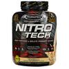 Muscletech, Nitro Tech, основной источник пептидов и изолята сывороточного белка со вкусом ванили, 1,81 кг (4 фунта)