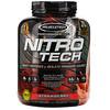 Muscletech, Nitro Tech, сывороточный изолят + рост сухой мышечной массы, вкус клубники, 1,80 кг (3,97 фунта)
