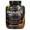Muscletech, Performance Series, Phase8, многоступенчатый 8-часовой протеин, со вкусом молочного шоколада, 2,09 кг (4 фунта)
