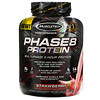Muscletech, Серия Performance, Phase8, многофазный 8-часовой белок, со вкусом клубники, 2,09 кг (4,60 фунта)