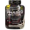 Muscletech, Performance Series, Phase8, многоступенчатый 8-часовой протеин, со вкусом печенья с кремом, 2,09 кг (4,60 фунтов)