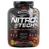 Muscletech, NitroTech, основной источник пептидов и изолятов сывороточного белка, мокачино, 1,81кг (4,00 фунта)