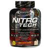 Muscletech, Nitro Tech, сывороточный изолят + рост сухой мышечной массы, вкус именинного торта, 1,80 кг (3,97 фунта)