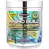 Muscletech, Amino Build Next Gen, аминокислоты для повышения энергии, голубая малина, 287г (10,13унции)
