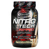 Muscletech, Nitro Tech, Ripped, Ultimate Protein + Weight Loss Formula, French Vanilla Swirl, 2 lbs (907 g)