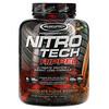 Muscletech, Nitro Tech Ripped, чистый протеин + состав для похудения, со вкусом брауни с шоколадной помадкой, 1,81кг (4фунта)