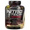 Muscletech, Nitro Tech Ripped, чистый протеин + формула для похудения, французская ваниль, 1,81кг (4фунта)