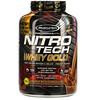 Muscletech, Nitro Tech, 100% Whey Gold, сывороточный протеин в порошке, двойной шоколад, 2,51кг (5,54фунта)