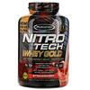 Muscletech, Nitro Tech, 100% Whey Gold, со вкусом клубники, 2,51кг (5,53фунта)