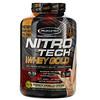 Muscletech, Nitro Tech, 100% Whey Gold (100% сыворотка), французский ванильный крем, 2,51кг (5,53фунта)