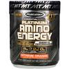Muscletech, Platinum Amino Plus Energy, насыщенный апельсин, 295г
