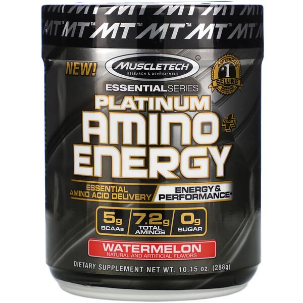Platinum Amino Plus Energy, арбуз, 288г