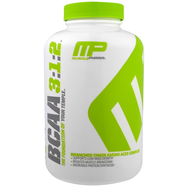 MusclePharm, BCAA 3:1:2, 240 капсул (Discontinued Item)