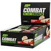 MusclePharm, Combat Crunch, клубника со сливками, 12батончиков, 63г (2,22унции) каждый