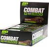 MusclePharm, Гибридные серии, Combat Crunch, Шоколадный торт, 12 баров, 2,22 унции (63 г) Каждый