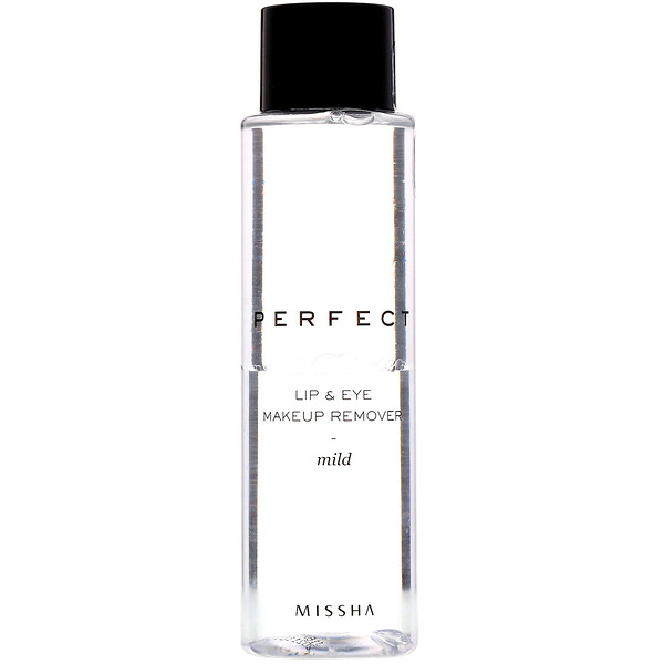 Perfect Lip & Eye Makeup Remover, Mild, 155 ml