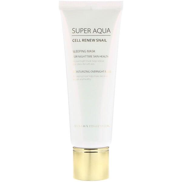 Super Aqua, Cell Renew Snail, Sleeping Mask, 3.7 fl oz (110 ml)