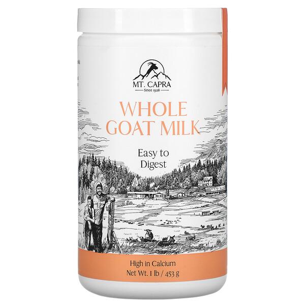 Mt. Capra, Whole Goat Milk , 1 lb (453 g)