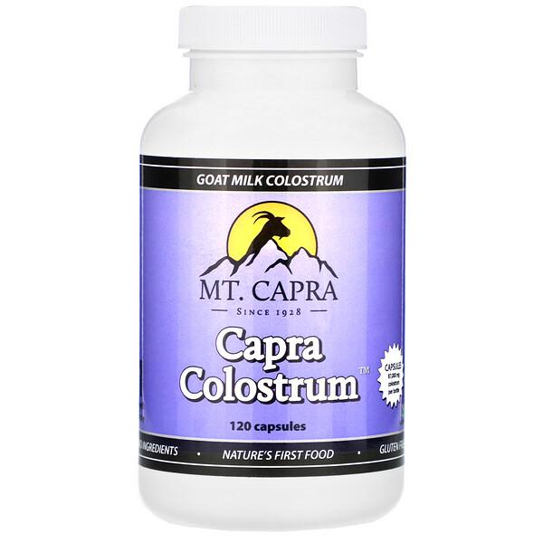 Capra Colostrum, молозиво из козьего молоко, 120капсул