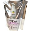 Method, Жидкое средство для стирки в экономичной упаковке, 85 стирок, без запаха и красителей, 1020 мл (34 жидких унции)