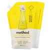 Method, Dish Soap Refill, лимон и мята, 1064 мл (36 жидких унций)