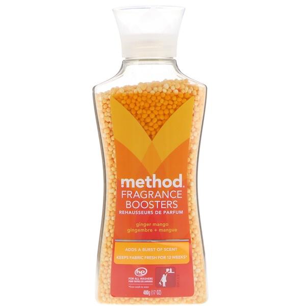 Method, Парфюмированный кондиционер для белья, имбирь + манго, 17 унц. (480 г) (Discontinued Item)