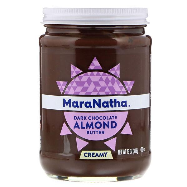 Dark Chocolate Almond Butter, Creamy, 13 oz (368 g)