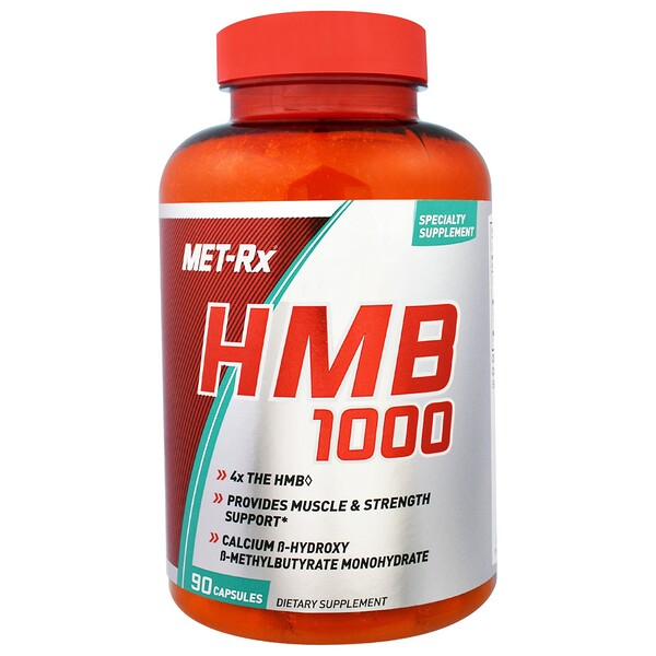 MET-Rx, HMB 1000, 90 капсул