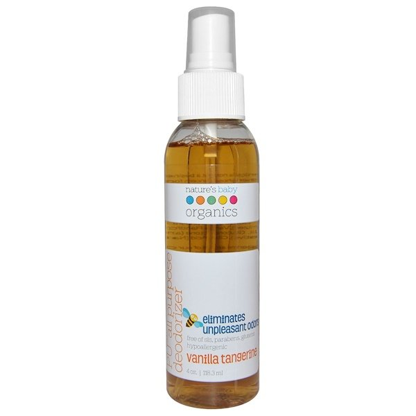 Nature's Baby Organics, Универсальный дезодорант PU, ваниль мандарин, 118,3 мл (Discontinued Item)