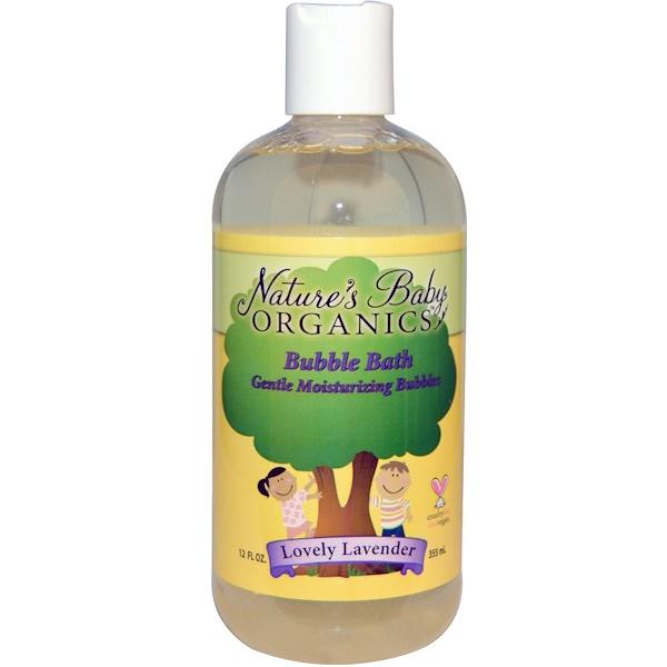Nature's Baby Organics, Жемчужная ванна, прекрасная лаванда, 12 жидк. унц. (355 мл) (Discontinued Item)