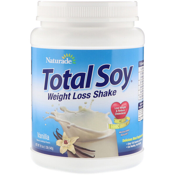 Total Soy, коктейль для похудения, ваниль, 540г (1,2фунта)