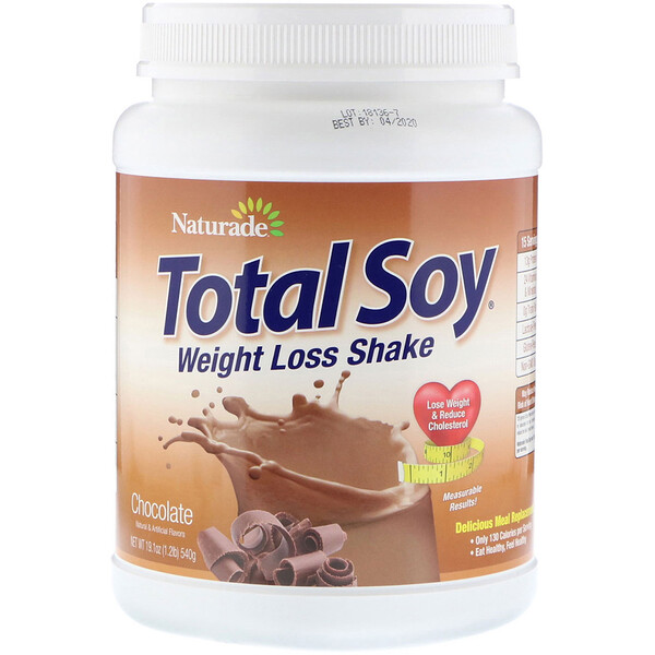 Total Soy, коктейль для похудения, шоколад, 540г (1,2фунта)