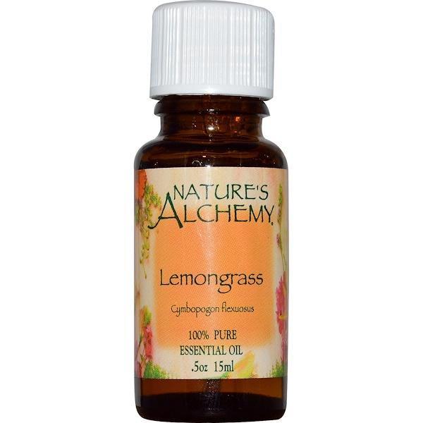 Эфирное масло лимонного сорго, 0,5 унции (15 мл)