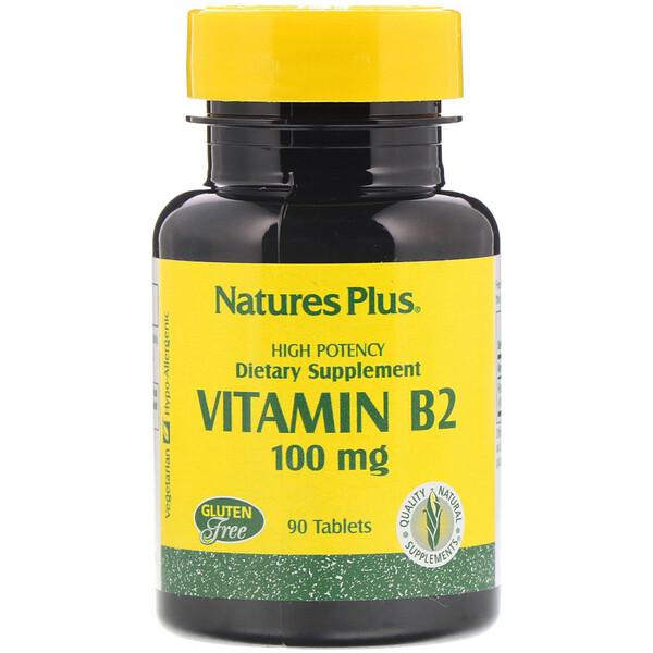 Витамин B-2, 100 мг, 90 таблеток