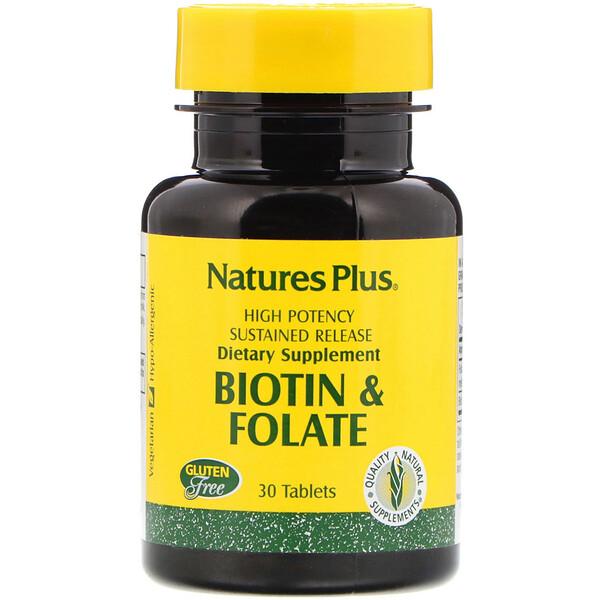 Биотин и фолиевая кислота, 30таблеток