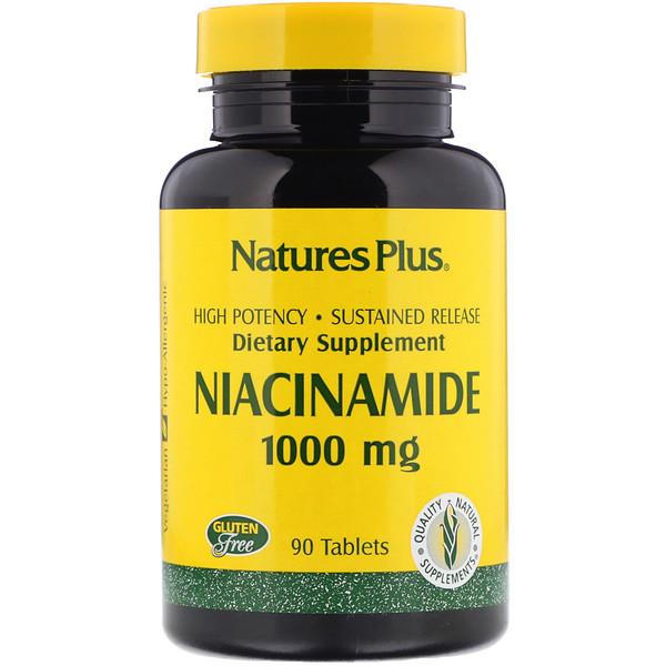 Ниацинамид, 1000 мг, 90 таблеток