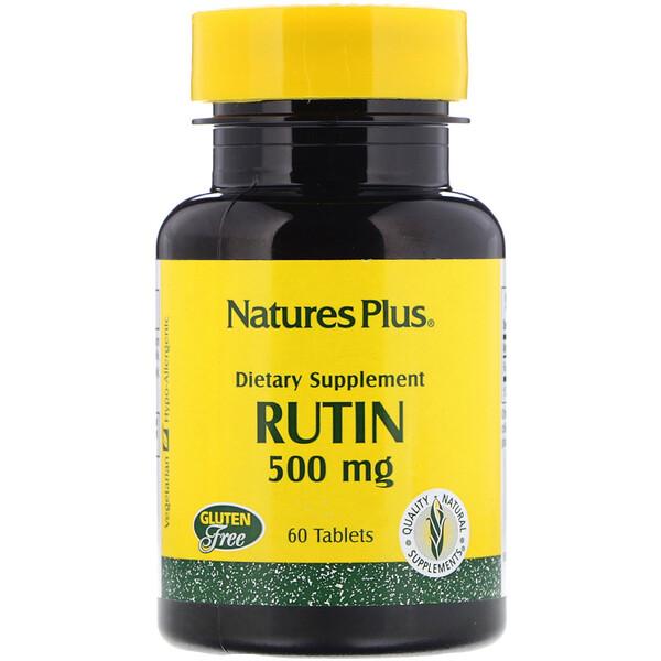 Рутин, 500 мг, 60 таблеток