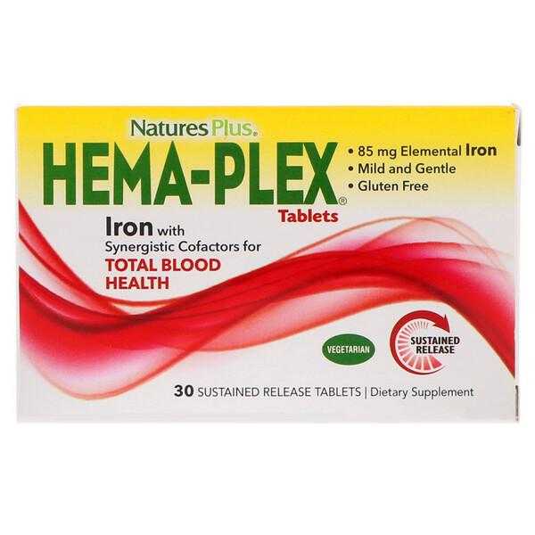 Hema-Plex, 30 таблеток с длительным высвобождением